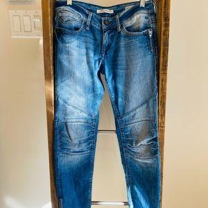 Mavi jesy skinny jeans ankle zipper